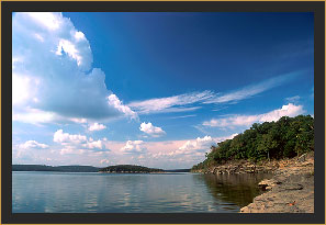 Tenkiller Ferry Reservoir, Oklahoma